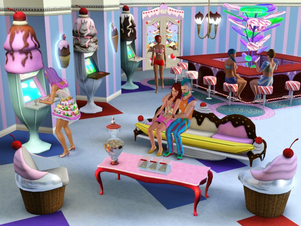The Sims 3 Katy Perry Sweet Treats