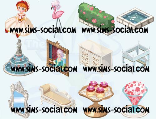 Sims Social Eşya